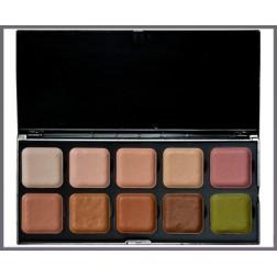 Encore paleta Cover Up 10 barev - tělová krycí