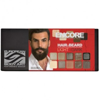 Encore paleta Hair and Beard Light to Dark 10barev - na vlasy a vousy