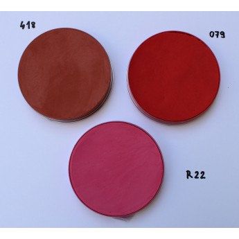 Aquacolor 55ml Kryolan - vodové barvy červená, růžová, oranžová