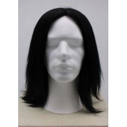 Paruka pánská černá lidské vlasy