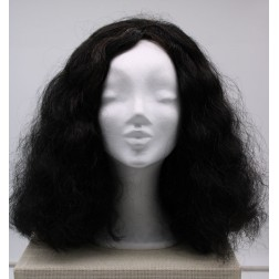 Paruka dámská černá, celopoutkovaná