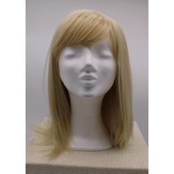 Paruka dámská blond s ofinou