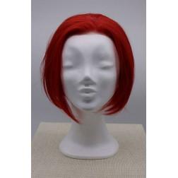 Paruka dámská červený bob