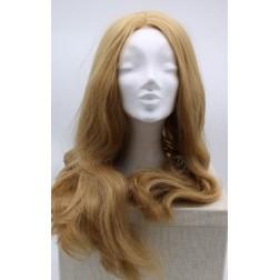 Paruka blond dlouhá, přední část ručně poutkovaná