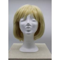 Paruka blond mikádo s ofinou