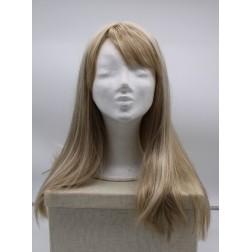 Paruka blond ledová s ofinou