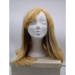 Paruka z lidských vlasů, blond