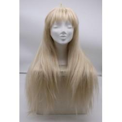 Paruka studená blond s ofinou