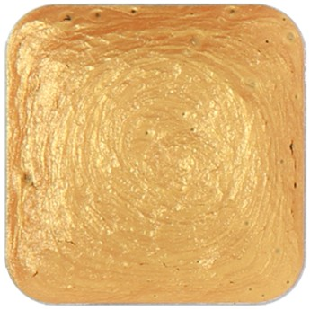 Metallic Gold 4,5g lihová barva tuhá