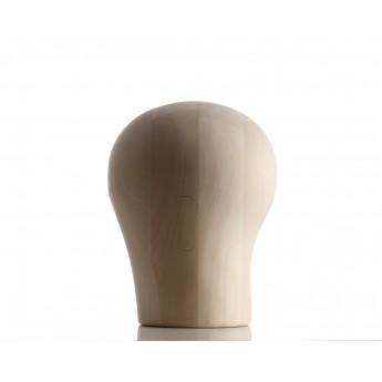 Hlava paruková, dřevo, vel. 50 - 64cm bez obličeje