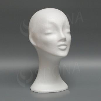 Polystyrénová hlava dámská
