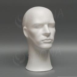 Polystyrénová hlava pánská