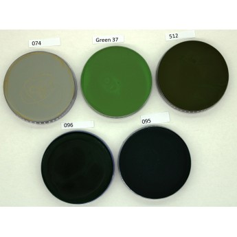 Supracolor 55ml Kryolan - zelené