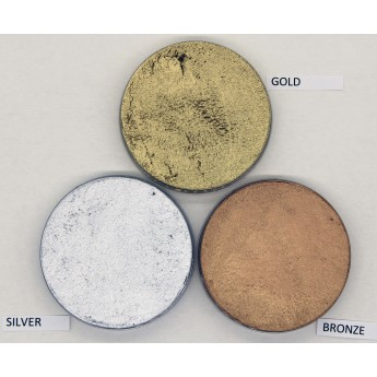 Supracolor Metallic 55ml Kryolan - zlatá, stříbrná, bronzová