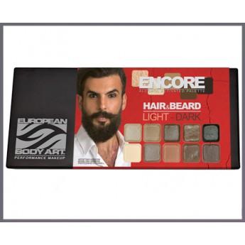 Hair and Beard Encore Light - lihová paleta na vlasy a vousy