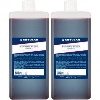 Supreme Blood External 1000ml - - umělá krev Kryolan
