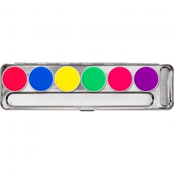 Aquacolor Day Glow 6 barev - UV barvy