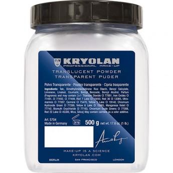 Translucent Powder Kryolan 500g - transp.pudry -5 barev