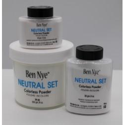 Neutral Set Ben Nye pudr - bezbarvý pudr 3 velikosti