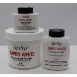 Super White pudr Ben Nye- super bílý pudr, 3 velikosti