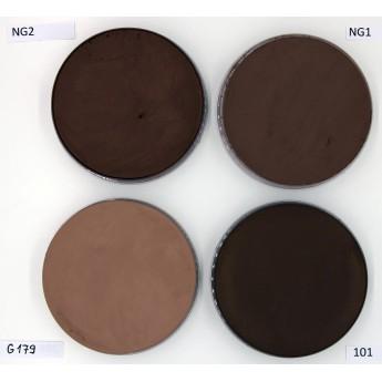 Aquacolor 55ml Kryolan - vodové barvy hnědé