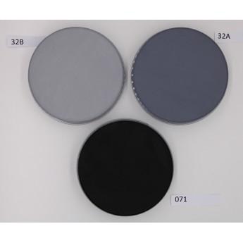 Aquacolor 55ml Kryolan - vodové barvy černá a šedé