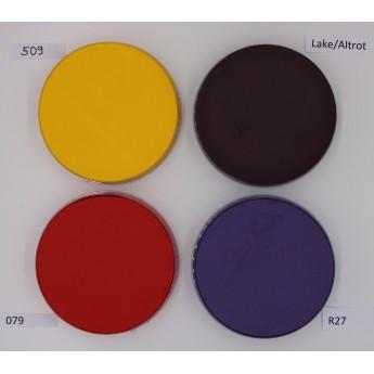 Aquacolor 55ml Kryolan - vodové barvy žlutá, červená, fialová, vínová