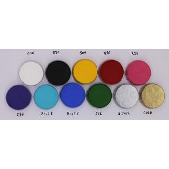 Aquacolor 8ml Kryolan -malé vodové barvy
