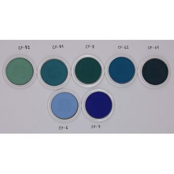 MagiCake Aqua 7g - malé vodové barvy (modré a modrozelené)