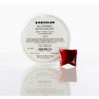 Blood Sachet Kryolan 1ks - krevní polštářky